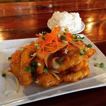 Thai Room Restaurant Kill Devil Hills Outer Banks, GENERAL TAO CHICKEN
